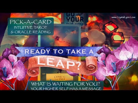 READY TO LEAP? WHAT IS WAITING FOR YOU? | PICK-A-CARD READING