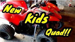 New Kids quad