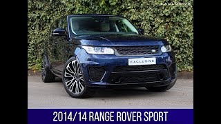2014 Range Rover Sport EXCLUSIVE SVR Edition - Exclusive Cars (GB)
