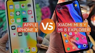iPhone X vs Xiaomi Mi 8: Celular similar al de Apple pero a mitad del precio