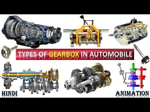 Types of Gearbox in Automobile | Complete Explanation in Hindi with  Animation