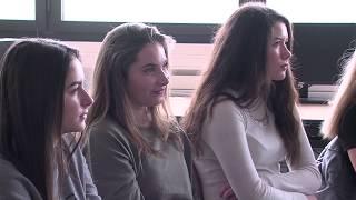 Rencontre entre collégiennes et marraines Elles Bougent à Vigny (Val…