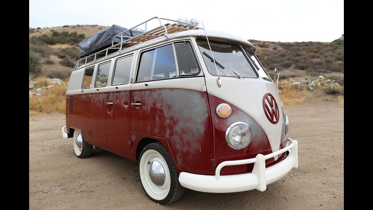 1967 vw bus icon derelict video tour youtube. Black Bedroom Furniture Sets. Home Design Ideas