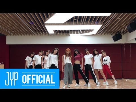 "TWICE ""Dance The Night Away"" Dance Video (NEW JYP Practice Room Ver.)"