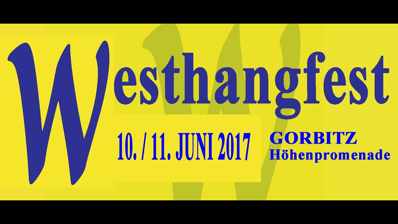 Westhangfest 2017 - Familienmeile am 11. Juni