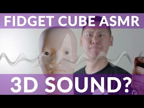 Real, Official Antsy Labs Fidget Cube + Prism Binaural Audio ASMR 3D Sound Effect