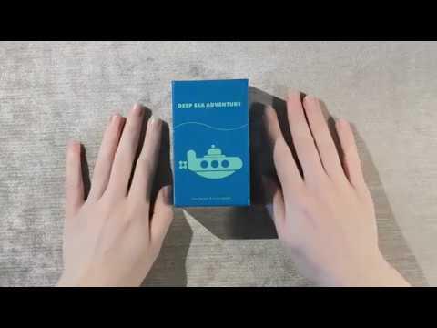 ASMR Board Games: Deep Sea Adventure (Whispered)