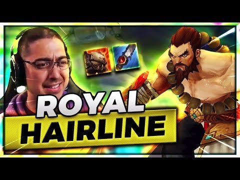 R0YAL HAIRLINE TAKING ALLLLLLLL THE BUFFS! | UDYR JUNGLE  ft SirhcEz - Trick2G