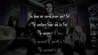 (instrumental) The Sacrament - HIM (Karaoke w/Lyrics)