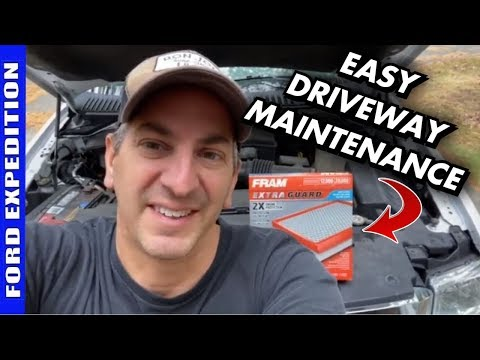 How To Replace 2007-2014 Ford Expedition 5.4 Air Filter
