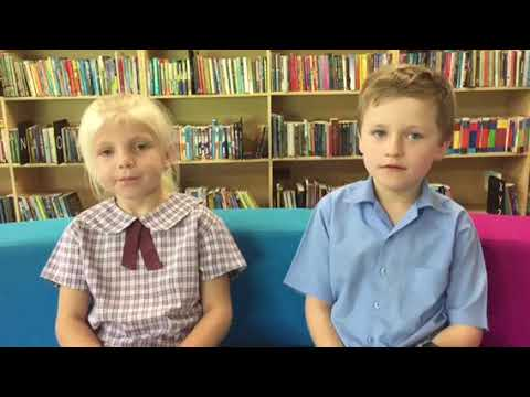 Isla Budden and Jimmy Grant talk school holidays.