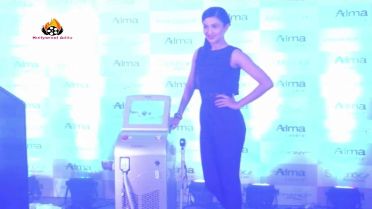 INDIA OFFICE LAUNCH OF ALMA MEDICAL PVT LTD WITH GAUAHAR KHAN