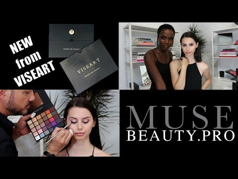 *NEW* VISEART Grande Pro Palette Vol. 1 with Muse Beauty Pro | Interview & Demo