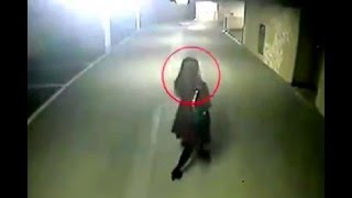 Funny Kidnapping clip of girl caught on cctv camera