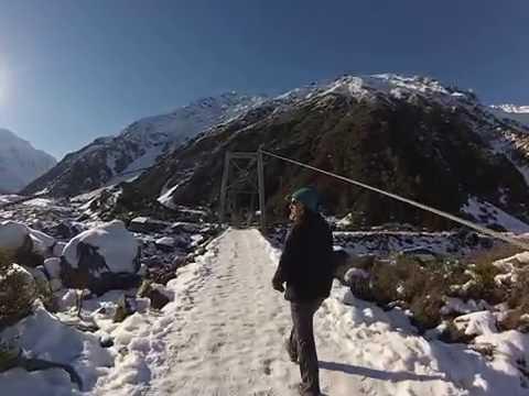 Aoraki Mount Cook Hooker Valley track