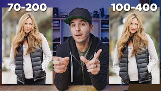 SONY 70-200mm VS 100-400mm - G-Master COMPARISON TEST