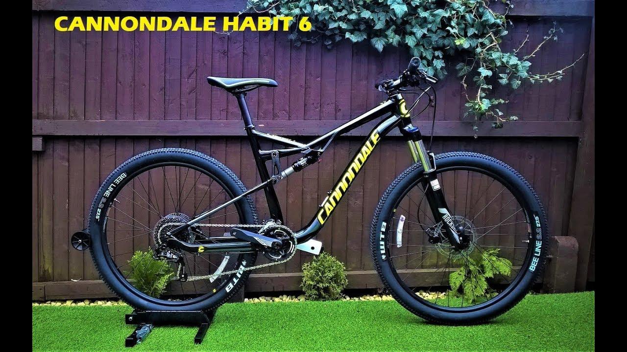 167d86a0ab0 Cannondale Habit 6 2017 Mountain Bike - YouTube