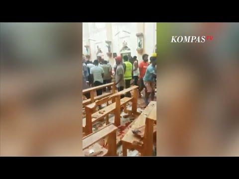 Video Amatir Suasana Pasca-Ledakan di Sri Lanka