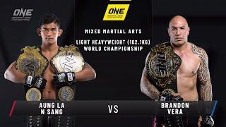 Aung La N Sang vs. Brandon Vera | ONE: CENTURY Open Workout