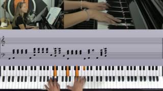 Floating - original song piano tutorial Kendra Dantes