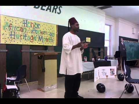 Presentation @ John Burroughs middle School TRUTH MOORS