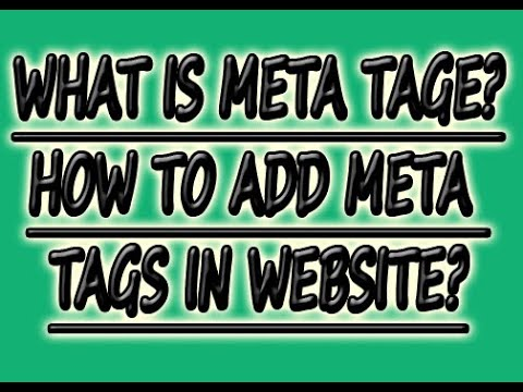 How To Add meta tags For PHP | HTML | WordPress | Blogger Website White Hat  SEO | What is Meta tag?