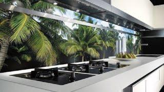 дизайн кухни, фартук из стекла для кухни(, 2014-12-02T16:30:35.000Z)