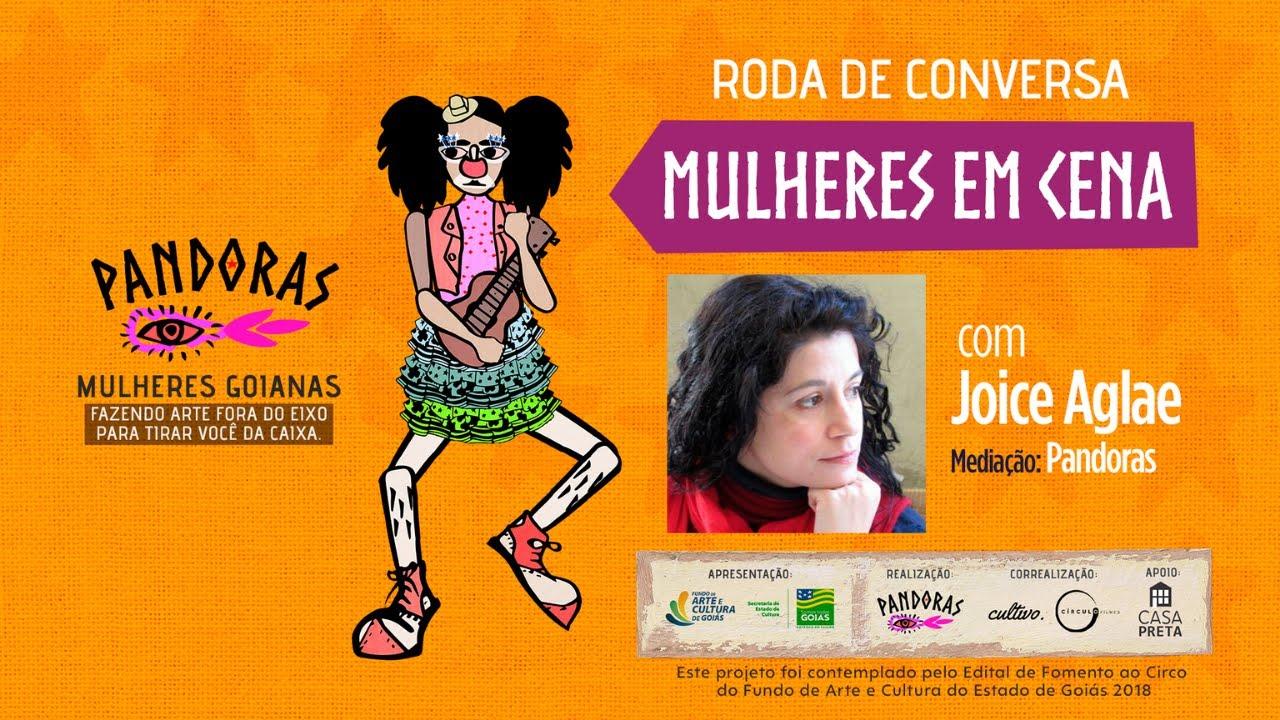 [live] MULHERES EM CENA, com Joice Aglae e mediação de Fernanda Pimenta