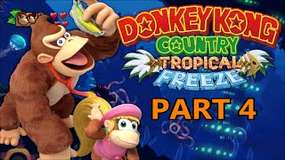 Donkey Kong Country: Tropical Freeze Part 4: Ft mek620: Big Tits Boss and Lesbian Dixie