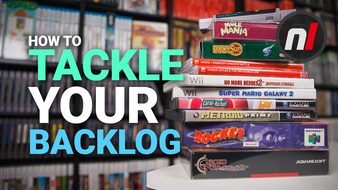 How to Tackle your Gaming Backlog