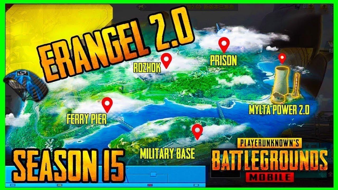 NEW ERANGLE 2.0 PUBGM ! PUBG MOBILE LIVE WITH ZENOOP   NEW MAP READY   UNLIMITED CUSTOM ROOMS