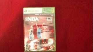 NBA 2k13 Unboxing! Official Nba 2k13 Game - Xbox 360! ARE YOU READY?