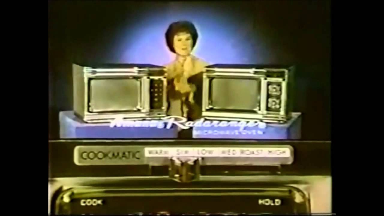 Amana Radarange Commercial Barbara Hale 1976 Youtube