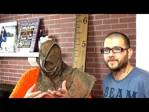 Custom Scarecrow Costume Designer Fitting