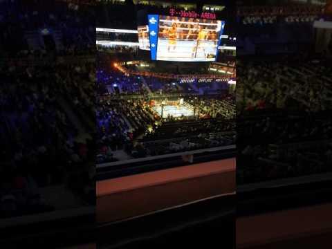 Im In the Building!  Ward vs Kovalev $500 on Kov