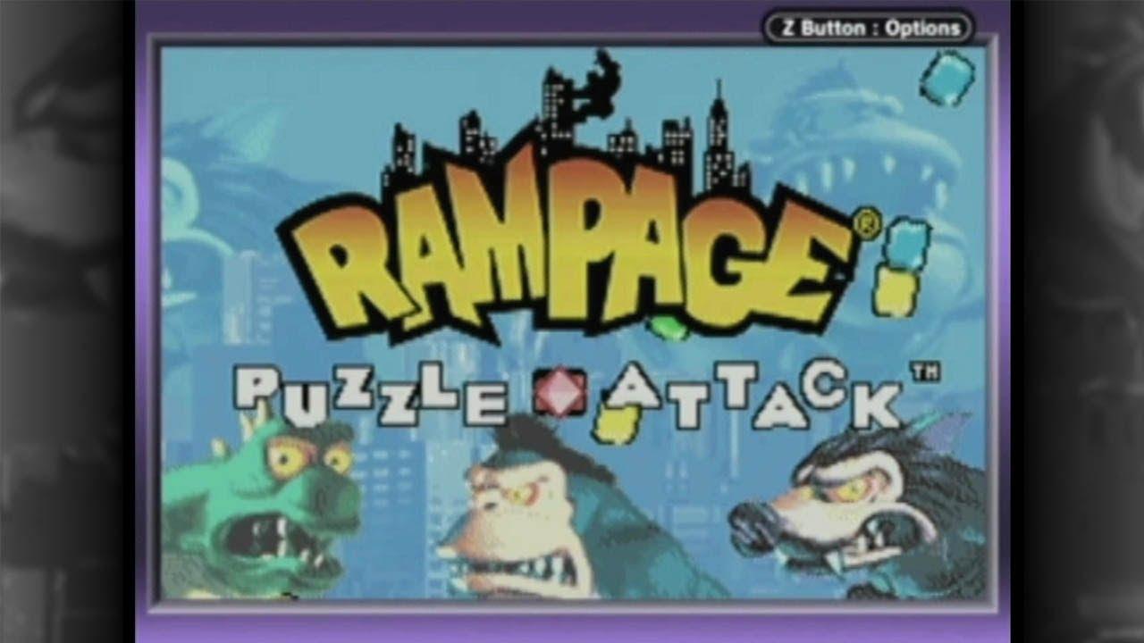 rampage game boy advance