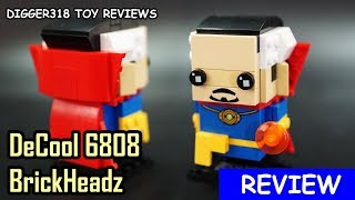 Video Lego Marvel SuperHeroes BrickHeadz Decool Bootleg 6808 Dr  Strange Review 4K download MP3, 3GP, MP4, WEBM, AVI, FLV Agustus 2018