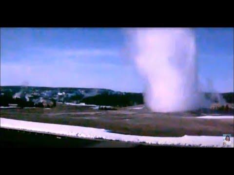 Big Beautiful Geysers@Yellowstone! April 1, 2018 [TL] [HD]
