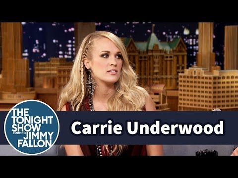 Carrie Underwood's Dogs Locked Her Baby in...