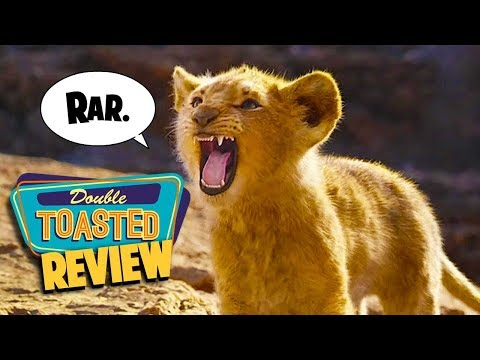 THE LION KING 2019 | GREAT VISUALS LAME MUSIC - Double Toasted Reviews