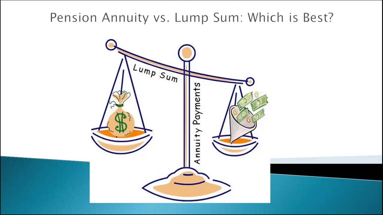 annuity or lump sum what is the best lump sum or annuity youtube. Black Bedroom Furniture Sets. Home Design Ideas