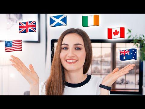 6 акцентов английского языка (с носителями)│ English Spot - разговорный английский