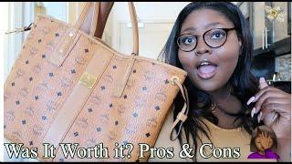 Honest MCM Bag Review: Medium Liz Reversible Shopper.