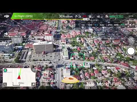 Dji Mavic Pro 5km Kota Baru Kelantan 30/9/2017