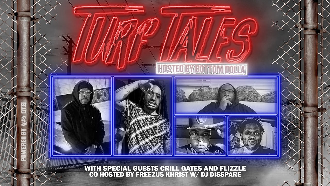 "Overtime Hustlin Presents ""Turf Tales Podcast"" Episode 50 (Crill Gates /Flizzle)"