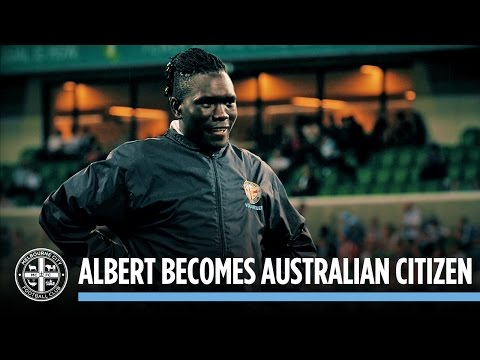 Young Leader Albert becomes Australian Citizen: #CityzensGiving