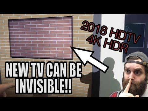 NEW INVISIBLE TV IN REAL LIFE!!