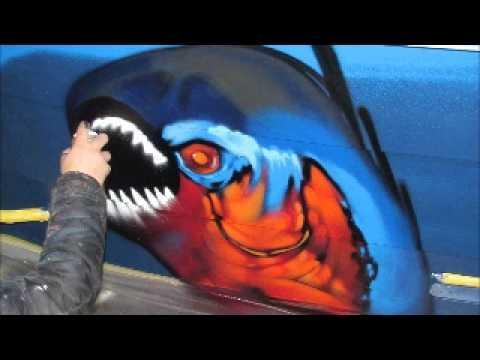 Steelfish Graffiti mk 9 aluminium reddingssloep sloep.wmv