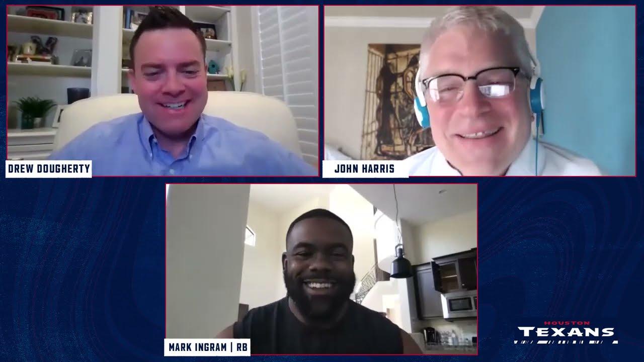 Mark Ingram II on Joining the Houston Texans