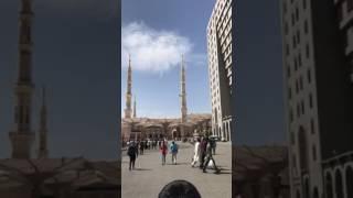 Umrah 6april 2017 first day madina beautiful